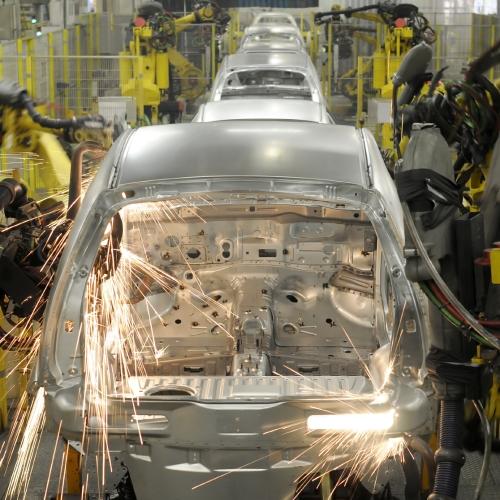 Línea de Producción de Automoción